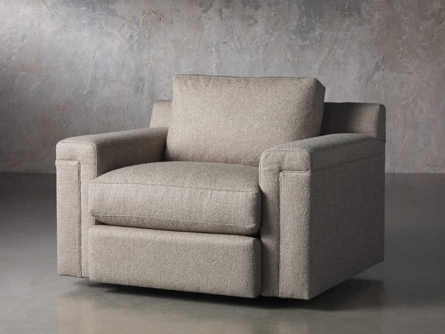 """Chandler Upholstered 46"""" Swivel Chair, slide 2 of 7"""