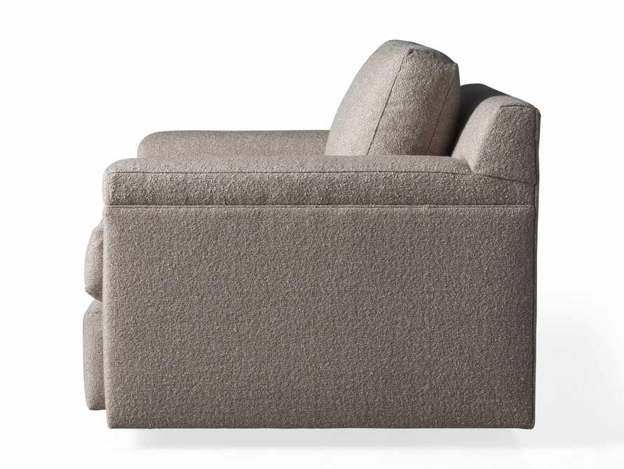 """Chandler Upholstered 46"""" Swivel Chair, slide 7 of 7"""