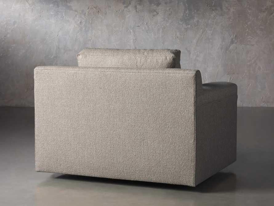 """Chandler Upholstered 46"""" Swivel Chair, slide 4 of 7"""