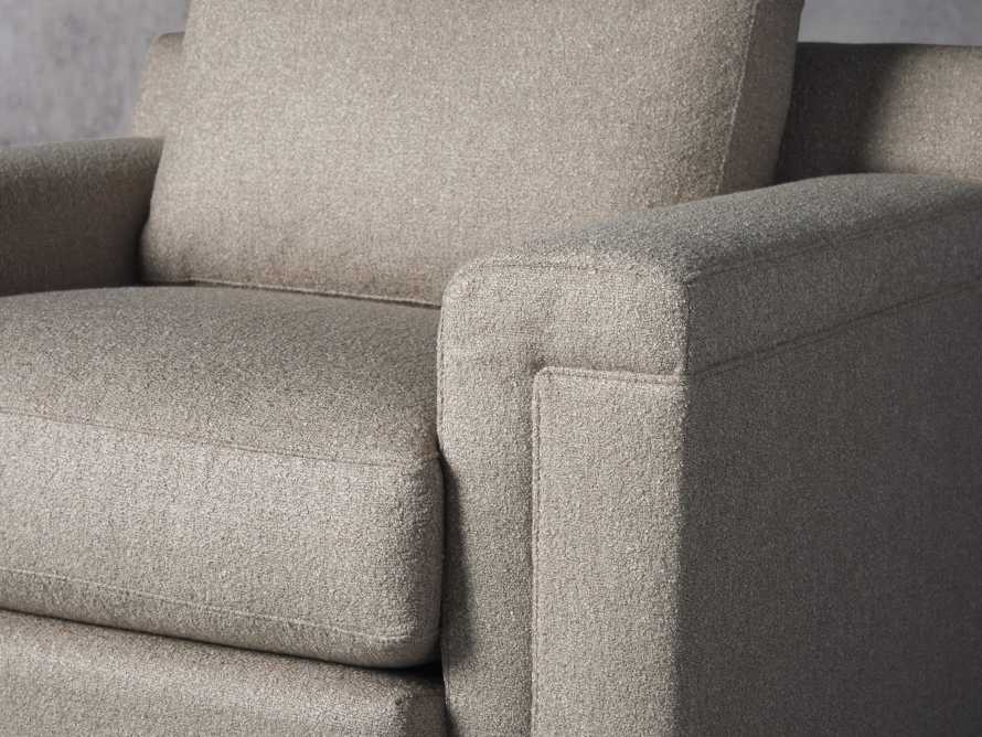 """Chandler Upholstered 46"""" Swivel Chair, slide 5 of 7"""