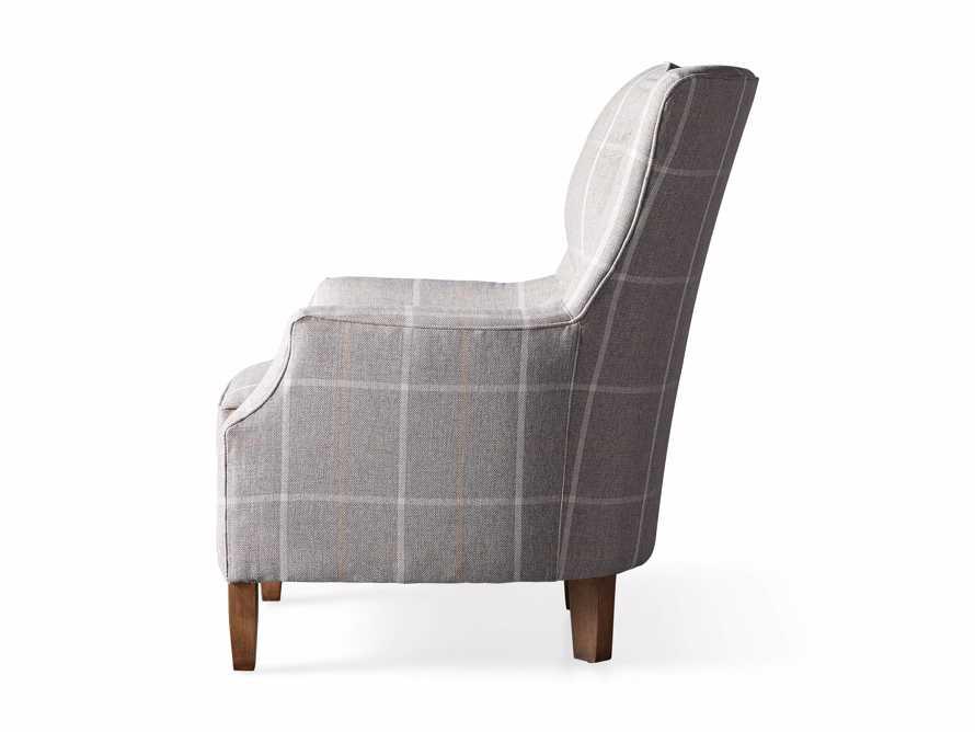 "Alex Upholstered 29"" Chair in Explorer Anchor, slide 9 of 9"