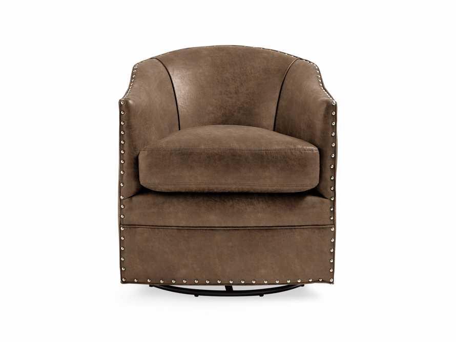 """Giles 28"""" Upholstered Swivel Chair, slide 8 of 8"""