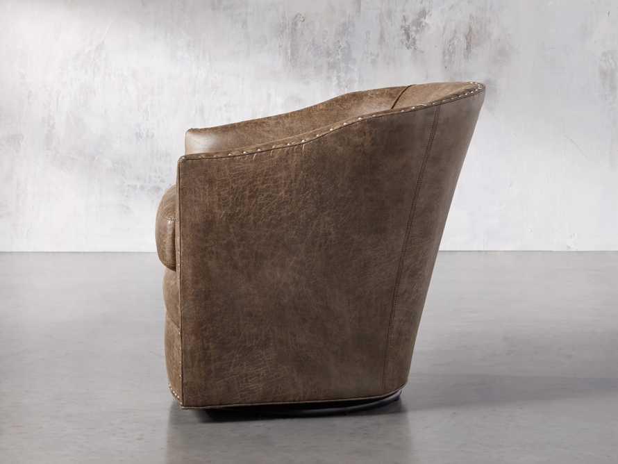 """Giles 28"""" Upholstered Swivel Chair, slide 3 of 8"""