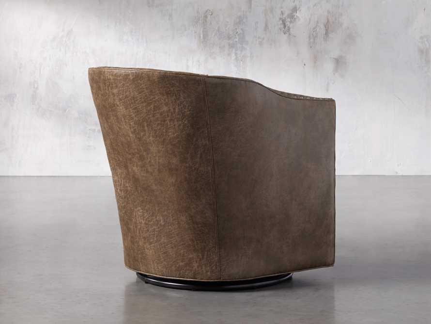 """Giles 28"""" Upholstered Swivel Chair, slide 4 of 8"""