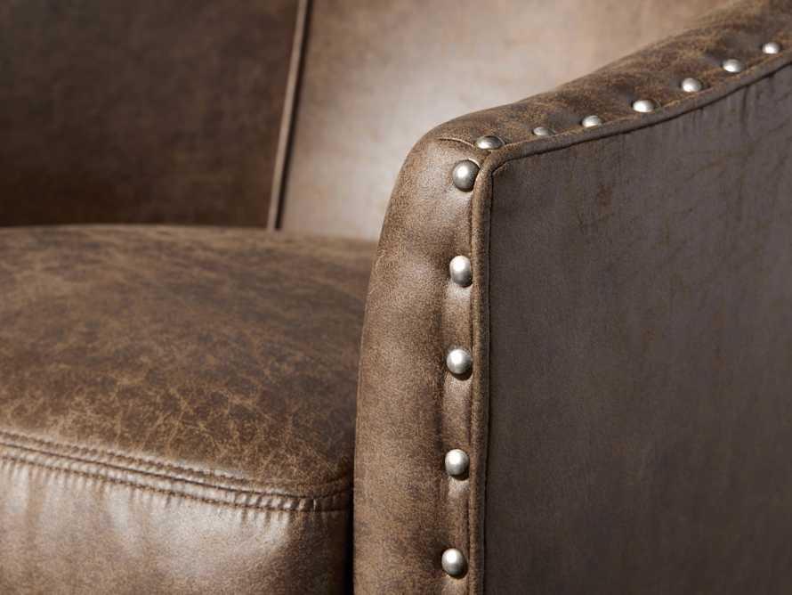 """Giles 28"""" Upholstered Swivel Chair, slide 5 of 8"""