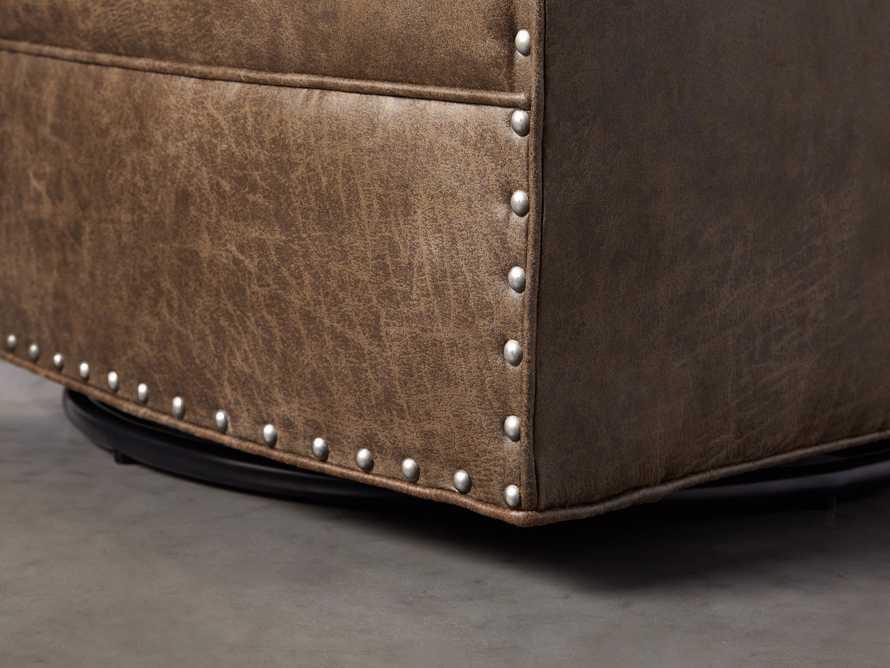 """Giles 28"""" Upholstered Swivel Chair, slide 6 of 8"""