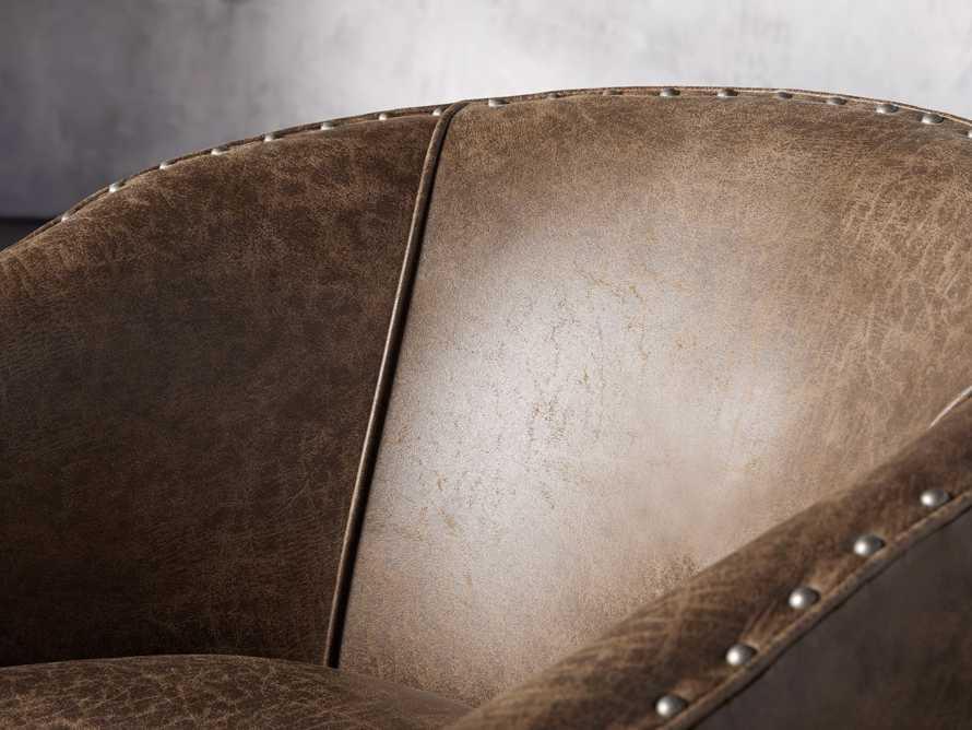 """Giles 28"""" Upholstered Swivel Chair, slide 7 of 8"""