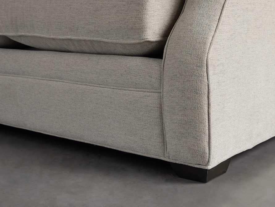"Landsbury Upholstered 89"" Queen Std Sleeper Sofa (3/3) With Chaise) in Merritt Dove, slide 11 of 17"