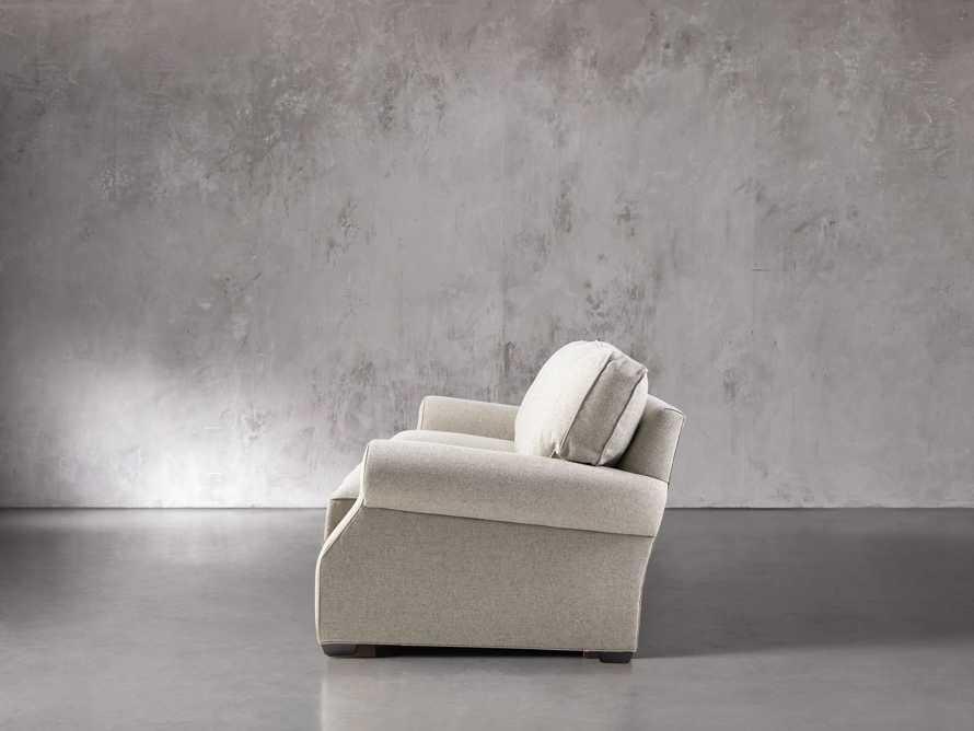 """Landsbury 89"""" Upholstered 3 Over 3 Sofa in Theater Gunsmoke, slide 3 of 5"""