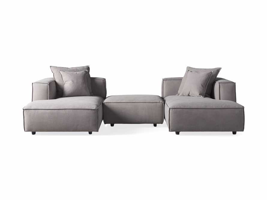 Coburn Upholstered Three Piece Sectional with Chaise, slide 7 of 7