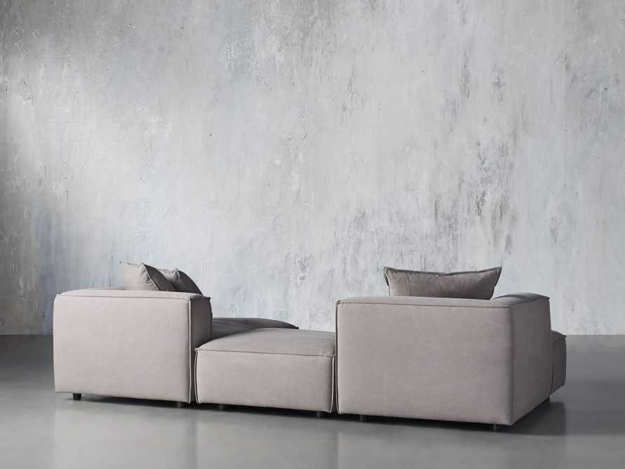 Coburn Upholstered Three Piece Sectional with Chaise, slide 4 of 7
