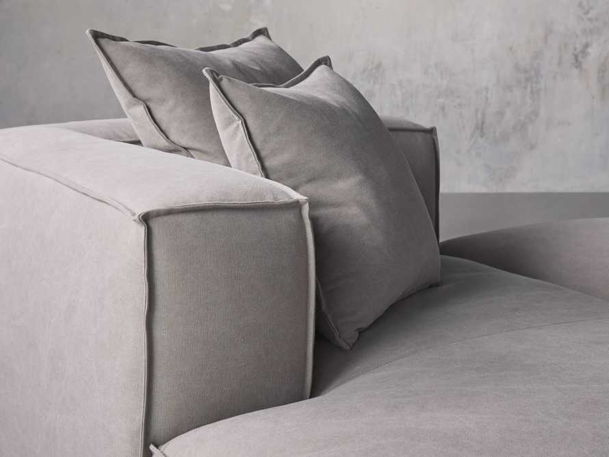 Coburn Upholstered Three Piece Sectional with Chaise, slide 6 of 7