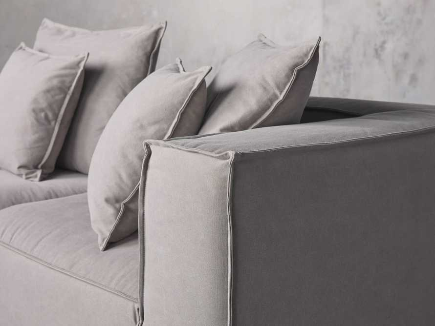 Coburn Upholstered Four Piece Sectional with Chaise, slide 5 of 6