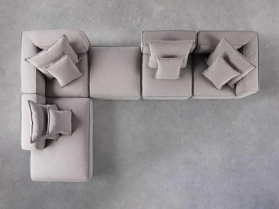 Coburn Upholstered Five Piece Bumper Sectional, slide 5 of 7