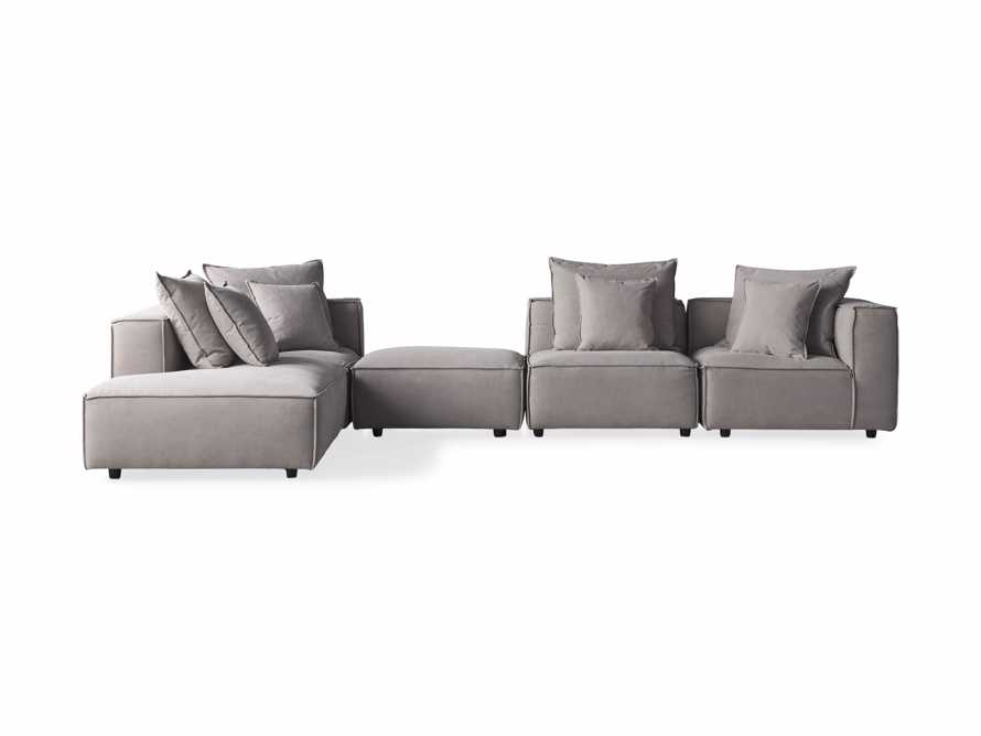 Coburn Upholstered Five Piece Bumper Sectional, slide 7 of 7