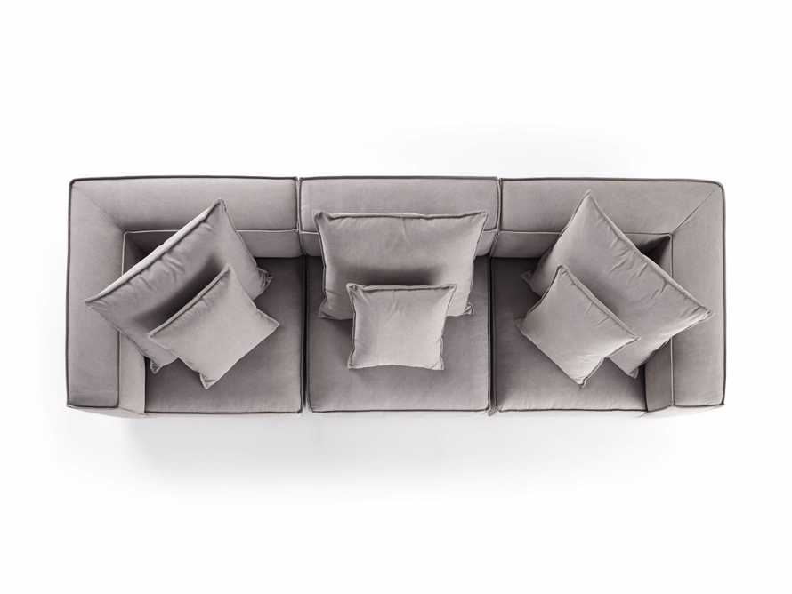 "Coburn Upholstered 124"" Three Piece Sectional, slide 7 of 7"