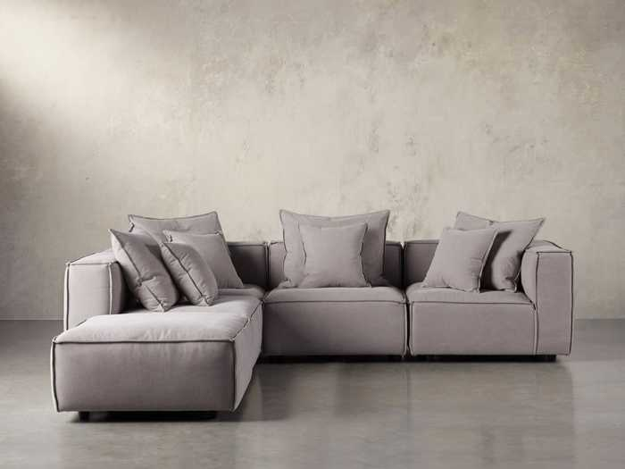 Astounding Sectional Sofas Couches Leather Sectional Sofas Arhaus Pabps2019 Chair Design Images Pabps2019Com