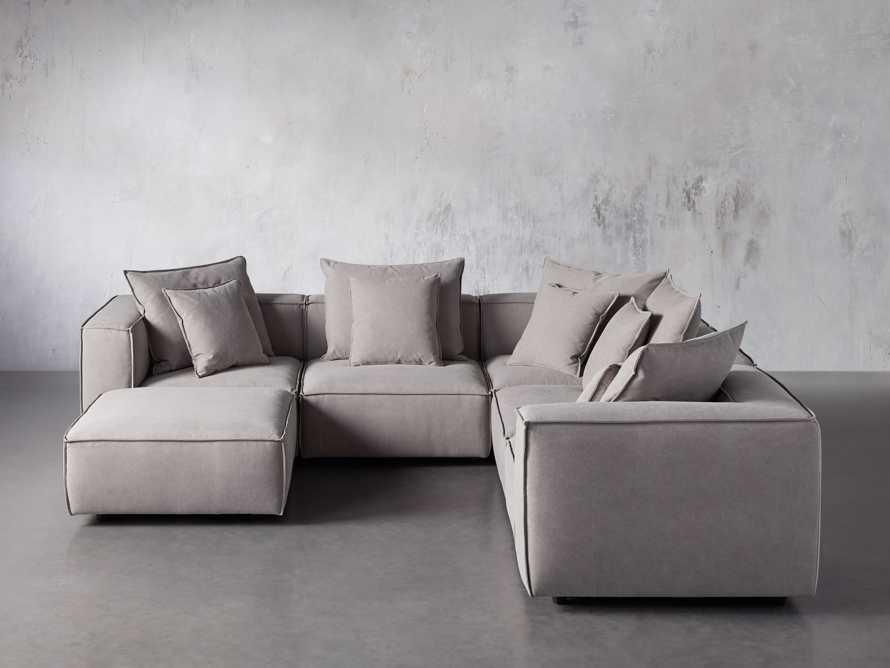 Coburn Upholstered Six Piece Corner Sectional, slide 2 of 7