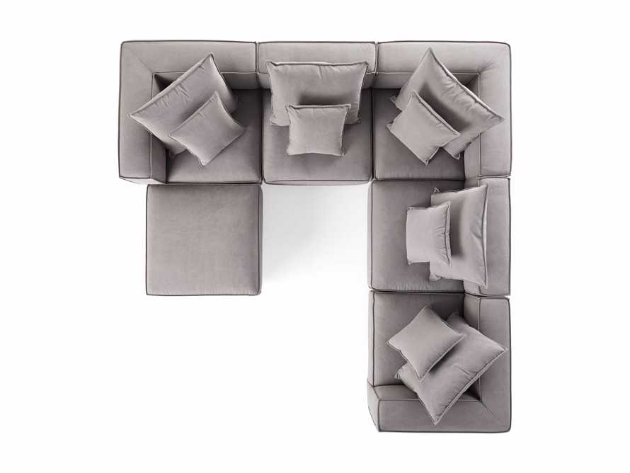Coburn Upholstered Six Piece Corner Sectional, slide 8 of 8