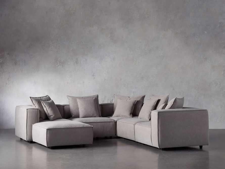 Coburn Upholstered Six Piece Corner Sectional, slide 3 of 7