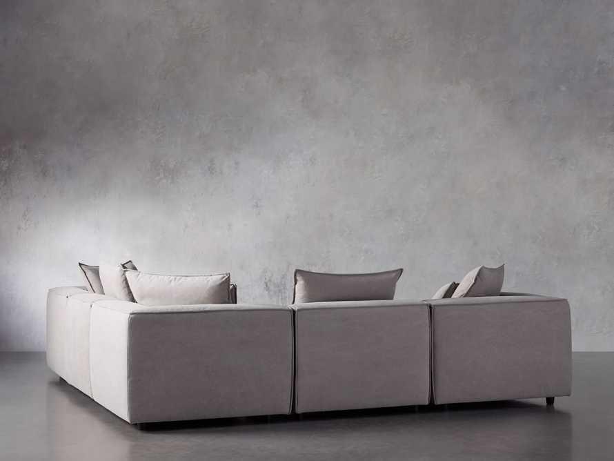Coburn Upholstered Six Piece Corner Sectional, slide 4 of 7