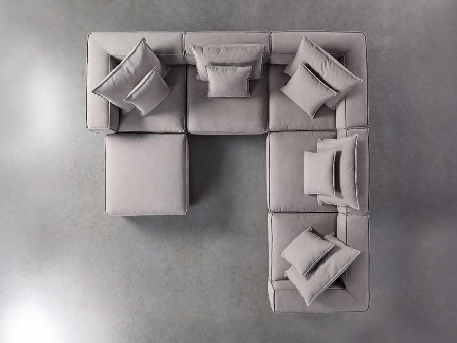 Coburn Upholstered Six Piece Corner Sectional, slide 5 of 7