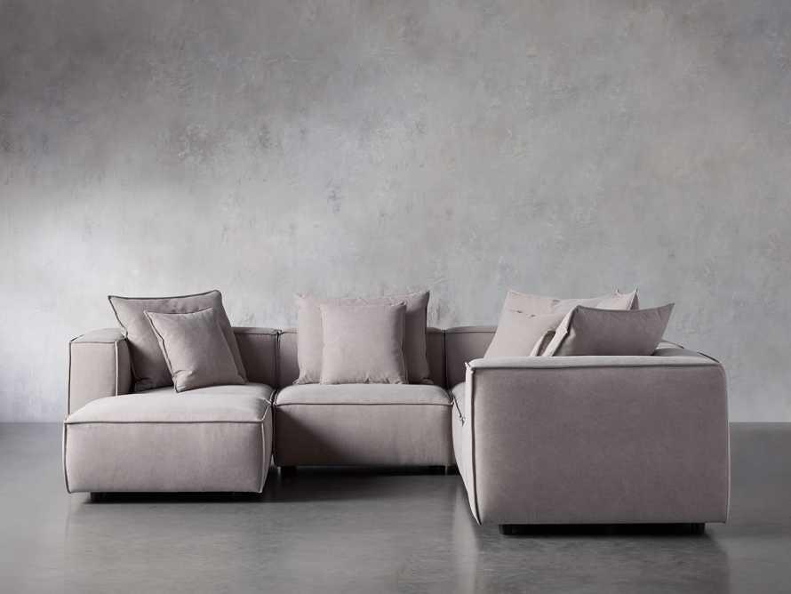 Coburn Upholstered Six Piece Corner Sectional, slide 1 of 7