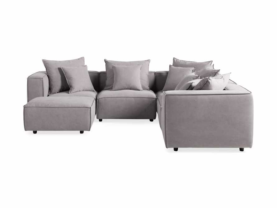 Coburn Upholstered Six Piece Corner Sectional, slide 7 of 7