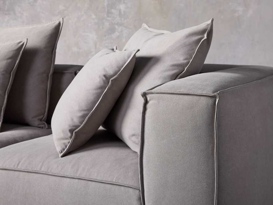 Coburn Upholstered Seven Piece Sectional in Capricorn Grey, slide 6 of 7