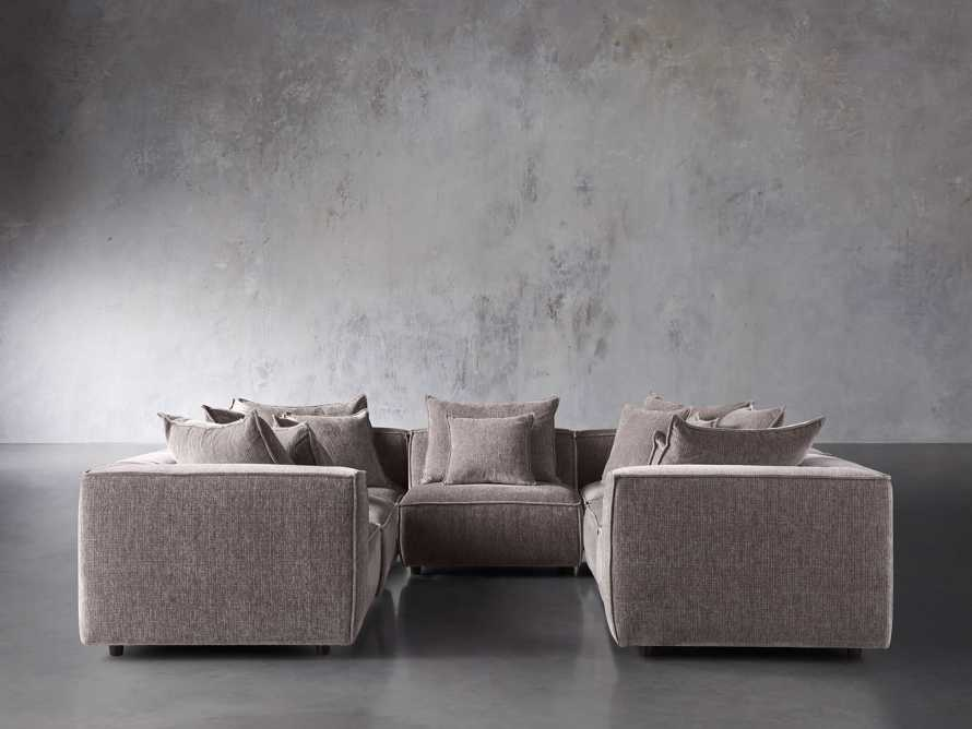 "Coburn Upholstered 124"" Seven Piece Sectional, slide 1 of 1"