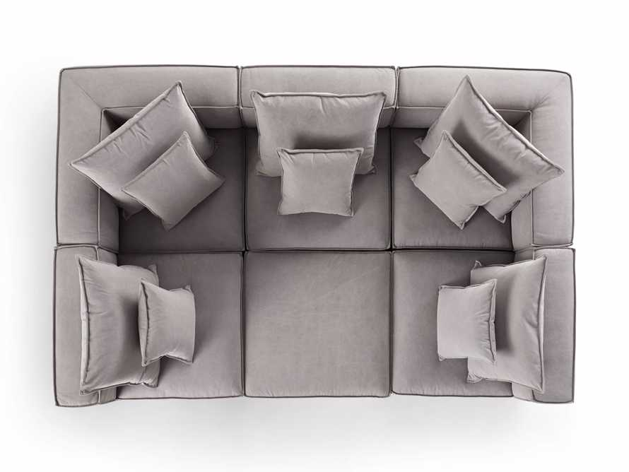 """Coburn 124"""" Six Piece Pit Sectional, slide 7 of 8"""