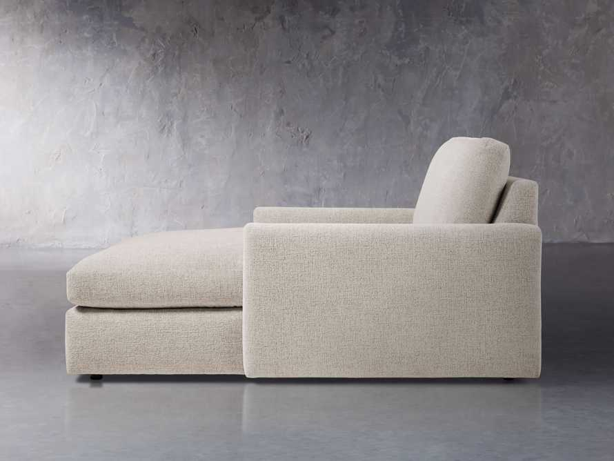 """Kipton Upholstered 51"""" Two Arm Chaise, slide 3 of 7"""