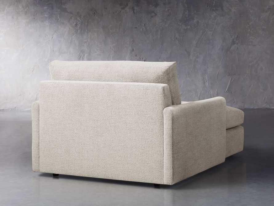 """Kipton Upholstered 51"""" Two Arm Chaise, slide 4 of 7"""