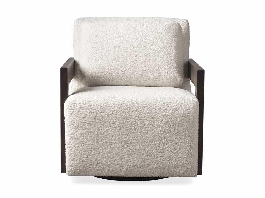 """Harrison Upholstered 30"""" Swivel Chair, slide 7 of 8"""