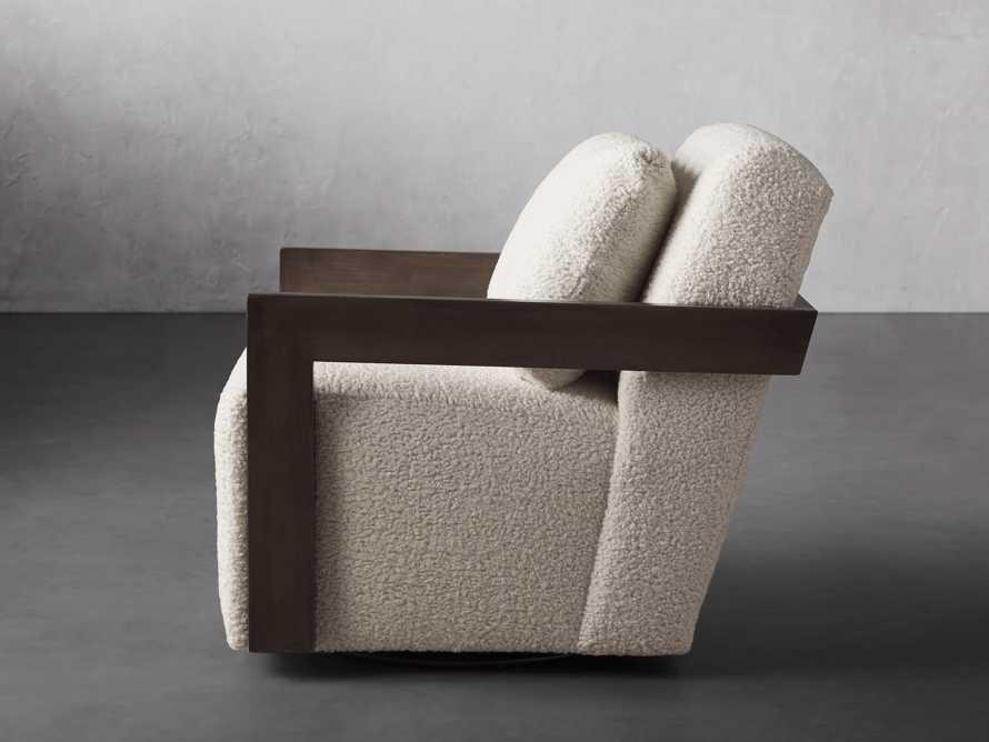 """Harrison Upholstered 30"""" Swivel Chair, slide 4 of 8"""