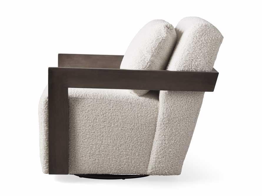 """Harrison Upholstered 30"""" Swivel Chair, slide 8 of 8"""