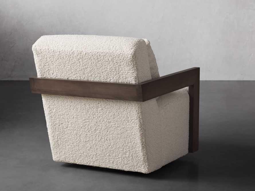 """Harrison Upholstered 30"""" Swivel Chair, slide 5 of 8"""