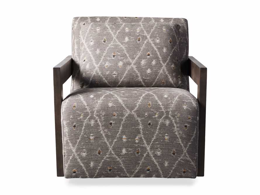 "Harrison Upholstered 30"" Swivel Chair, slide 7 of 8"