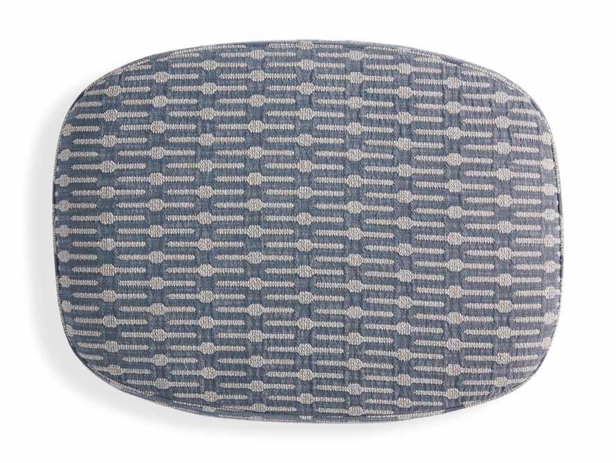 "Portsmouth Upholstered 29"" Ottoman in Dusty Blue Geo, slide 5 of 7"