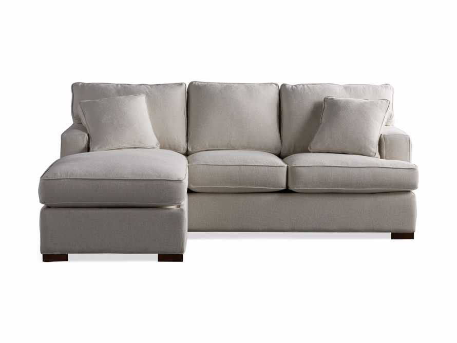 """Dune Upholstered 88"""" Sleeper Sofa with Chaise, slide 13 of 15"""