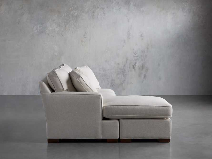 """Dune Upholstered 88"""" Sleeper Sofa with Chaise, slide 5 of 15"""