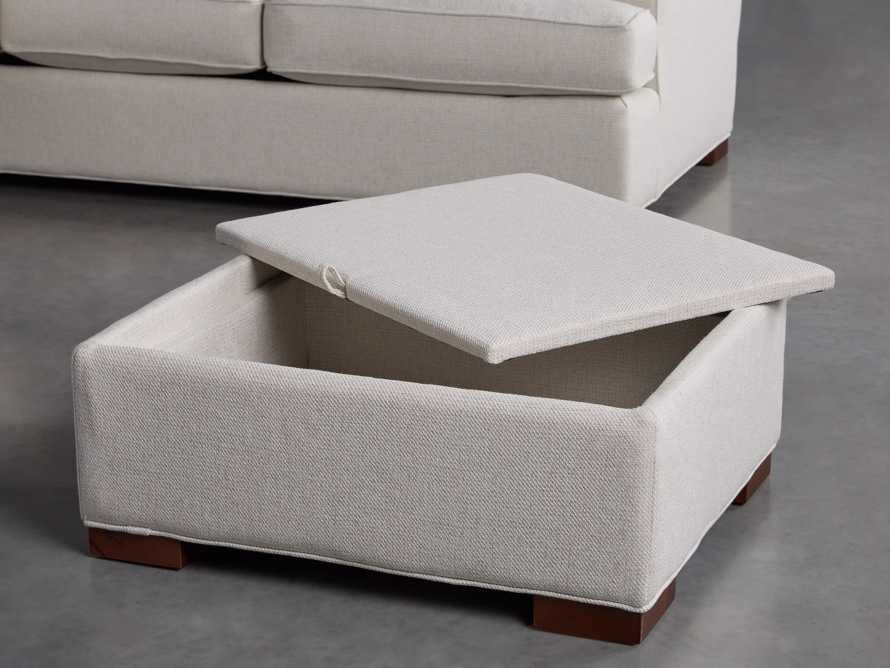 """Dune Upholstered 88"""" Sleeper Sofa with Chaise"""