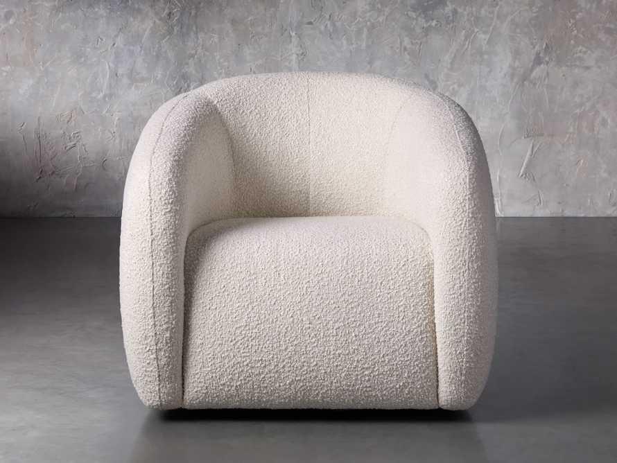 """Fresno Upholstered 36"""" Swivel Chair, slide 2 of 11"""
