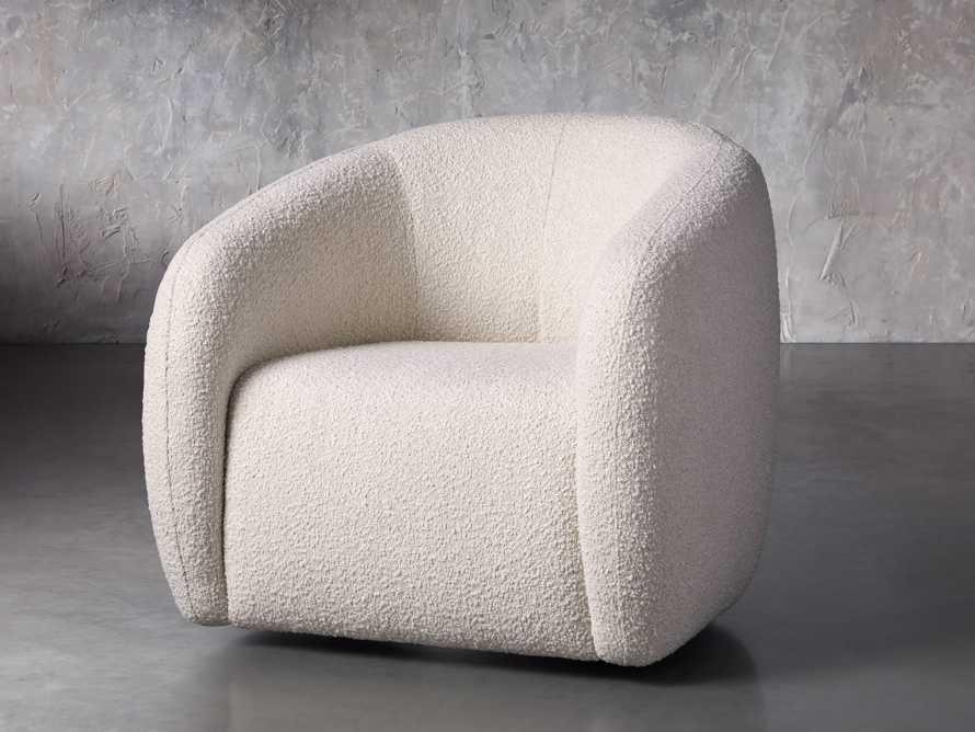 """Fresno Upholstered 36"""" Swivel Chair, slide 3 of 11"""