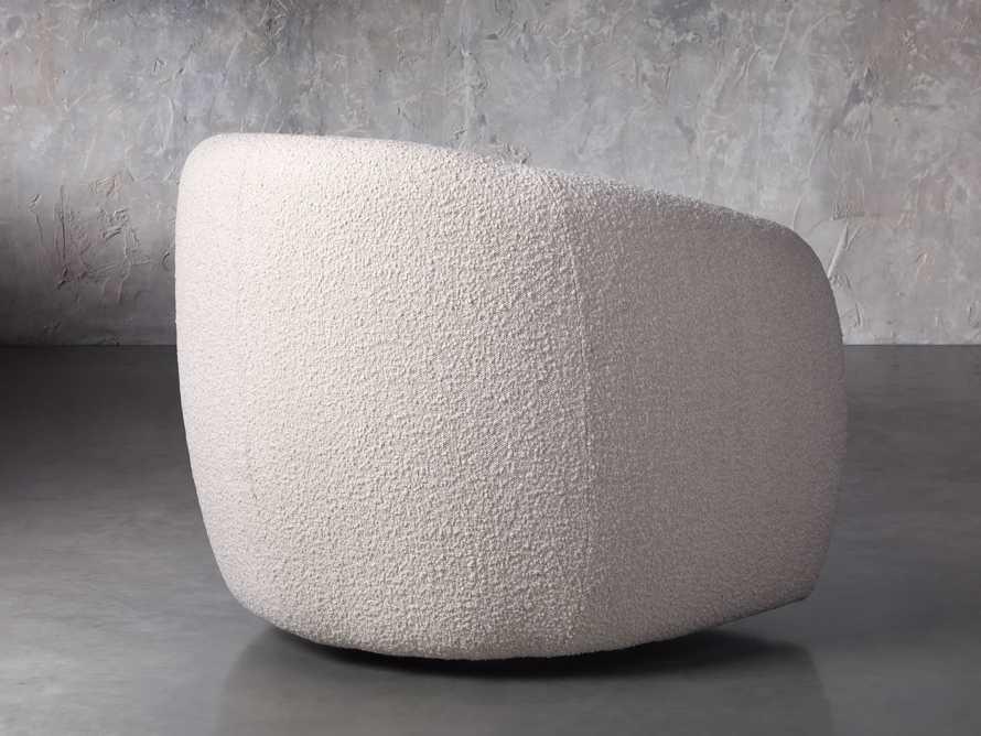 """Fresno Upholstered 36"""" Swivel Chair, slide 5 of 11"""