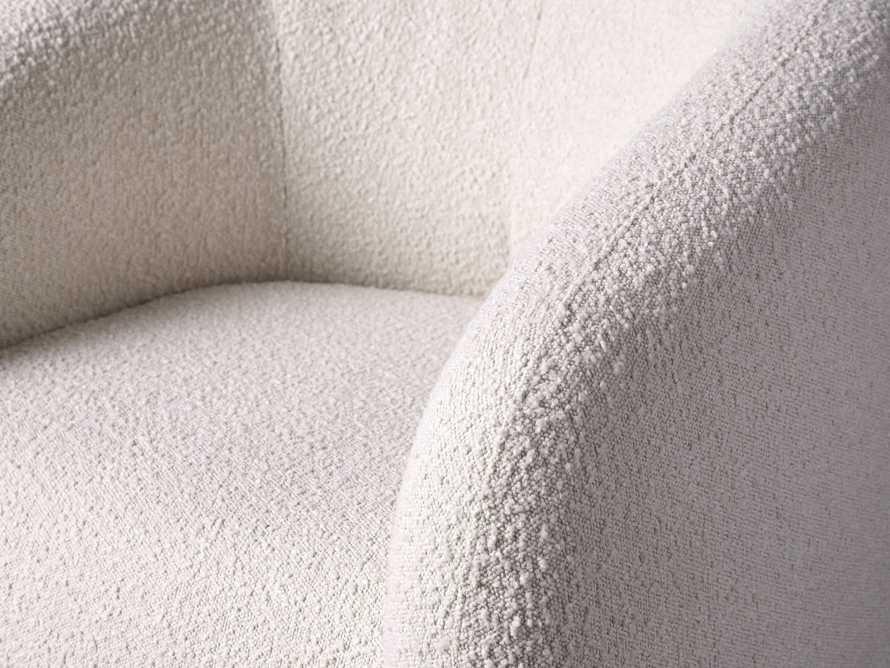"""Fresno Upholstered 36"""" Swivel Chair, slide 6 of 11"""