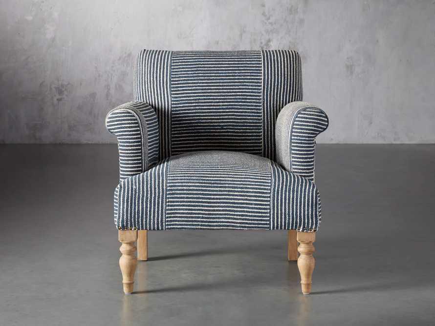"Eliza Upholstered 28"" Chair in Eliza Coastal, slide 2 of 8"