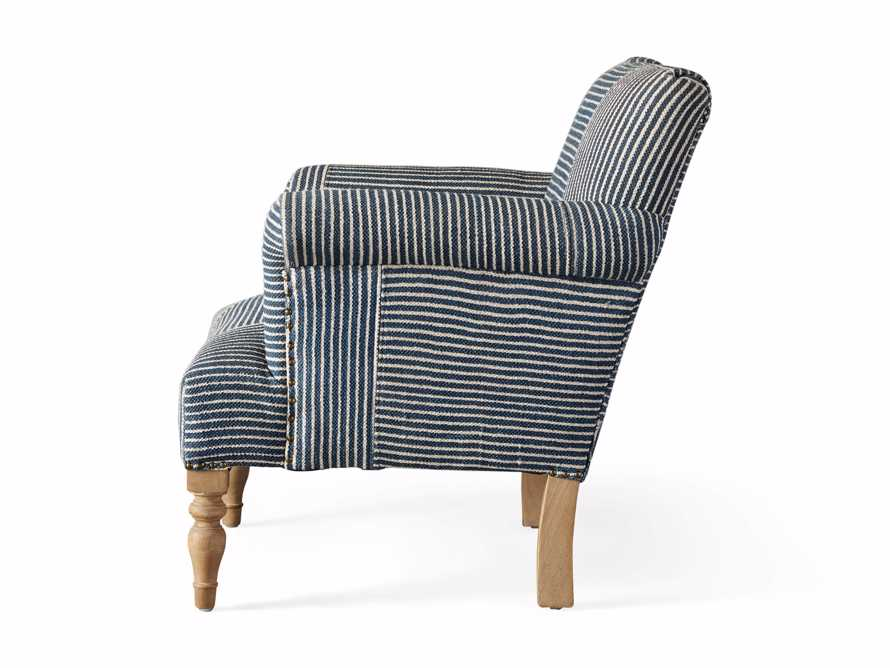 "Eliza Upholstered 28"" Chair in Eliza Coastal, slide 8 of 8"
