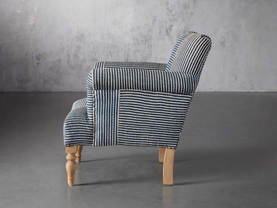 "Eliza Upholstered 28"" Chair in Eliza Coastal, slide 4 of 8"