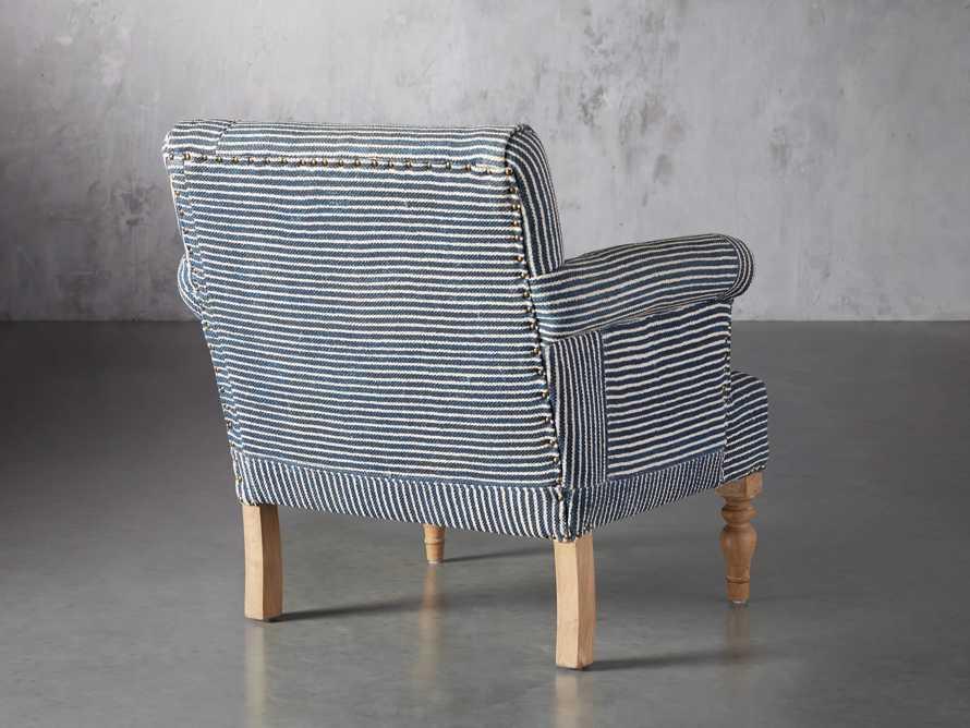 "Eliza Upholstered 28"" Chair in Eliza Coastal, slide 5 of 8"